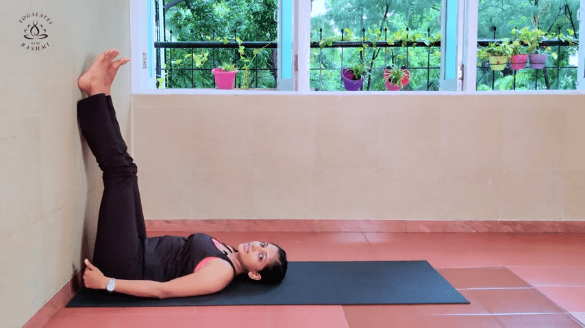 Shoulder Stand or Sarvangasana Easy Step by Step Yoga for Beginners Yogalates with Rashmi 1 50 screenshot