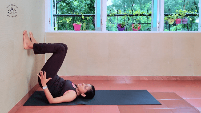 Shoulder Stand or Sarvangasana Easy Step by Step Yoga for Beginners Yogalates with Rashmi 2 19 screenshot