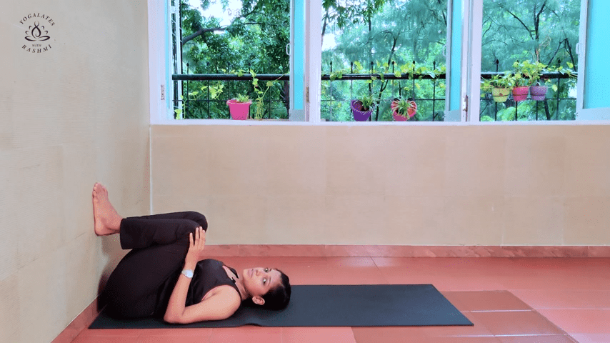 Shoulder Stand or Sarvangasana Easy Step by Step Yoga for Beginners Yogalates with Rashmi 4 2 screenshot