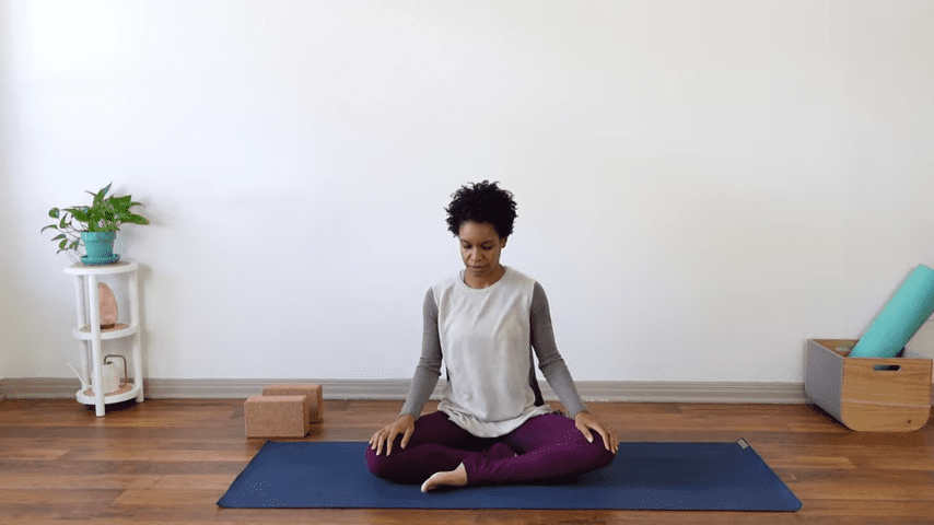 15 Minute Yin Yoga for Menstruation PMS and Menstrual Cramps 1 33 screenshot