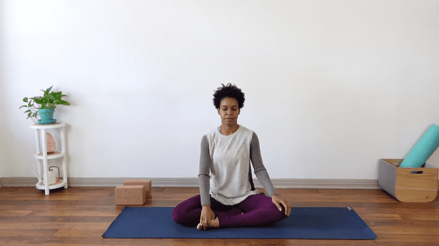 15 Minute Yin Yoga for Menstruation PMS and Menstrual Cramps 1 44 screenshot