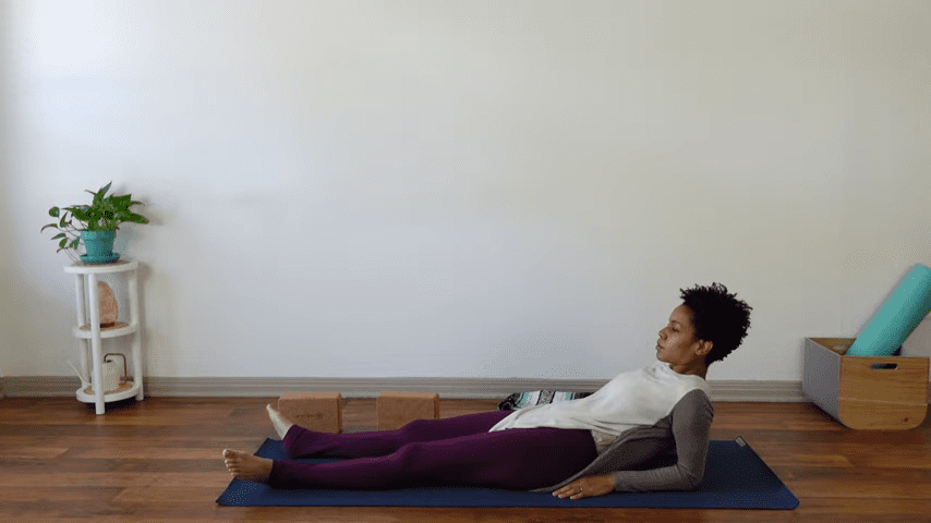 15 Minute Yin Yoga for Menstruation PMS and Menstrual Cramps 11 18 screenshot