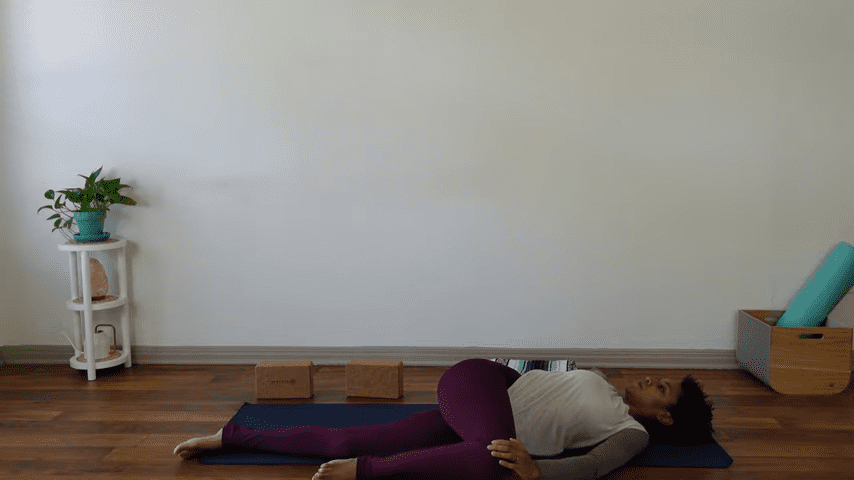 15 Minute Yin Yoga for Menstruation PMS and Menstrual Cramps 12 23 screenshot