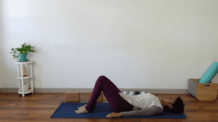 15 Minute Yin Yoga for Menstruation PMS and Menstrual Cramps 12 4 screenshot