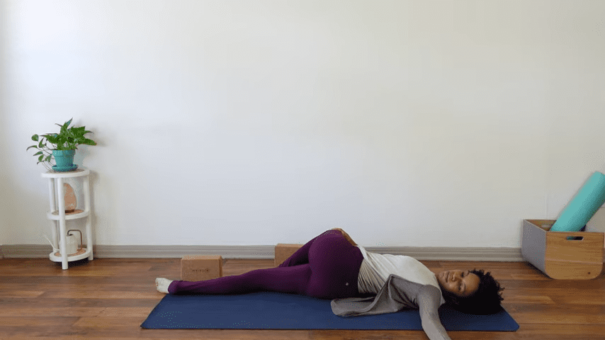 15 Minute Yin Yoga for Menstruation PMS and Menstrual Cramps 13 31 screenshot