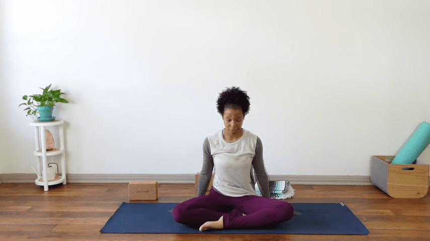 15 Minute Yin Yoga for Menstruation PMS and Menstrual Cramps 15 39 screenshot