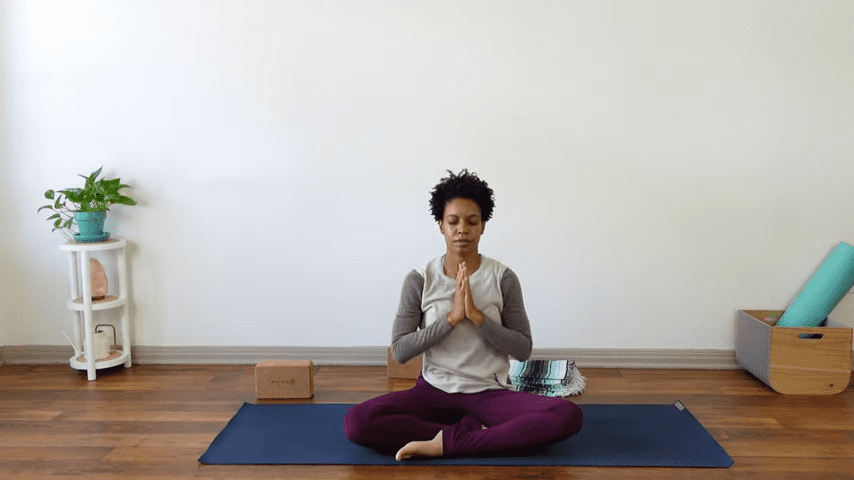15 Minute Yin Yoga for Menstruation PMS and Menstrual Cramps 15 49 screenshot
