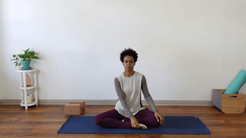 15 Minute Yin Yoga for Menstruation PMS and Menstrual Cramps 3 27 screenshot
