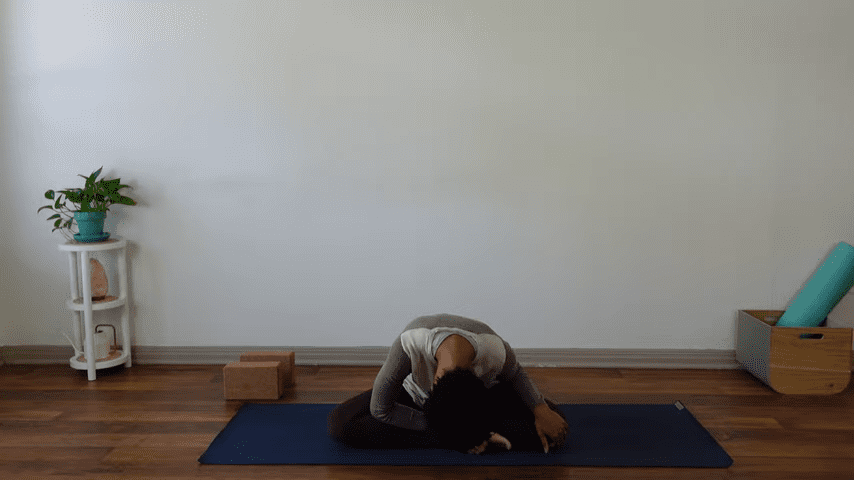 15 Minute Yin Yoga for Menstruation PMS and Menstrual Cramps 4 21 screenshot