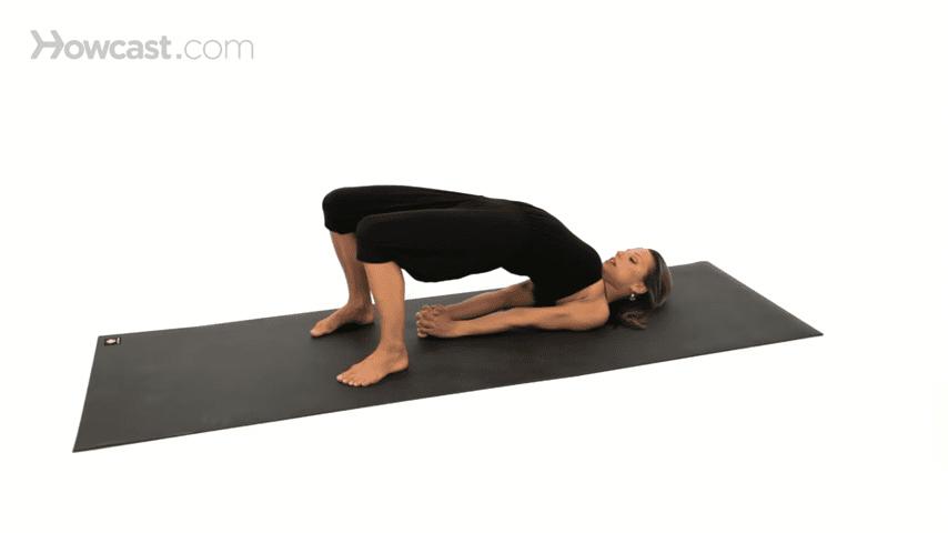 How to Do a Bridge Pose Yoga 1 5 screenshot