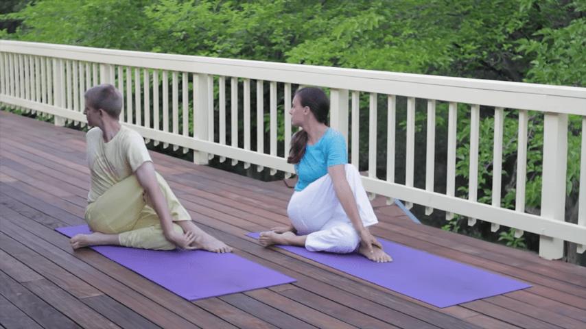 Sivananda Yoga Asana Sequence in 12 Basic Postures 4 24 screenshot