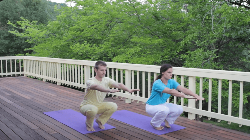 Sivananda Yoga Asana Sequence in 12 Basic Postures 6 0 screenshot