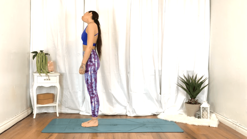 Yoga For TENSION RELIEF Sore Muscles 10 Minute Yoga Flow For Beginners 0 35 screenshot