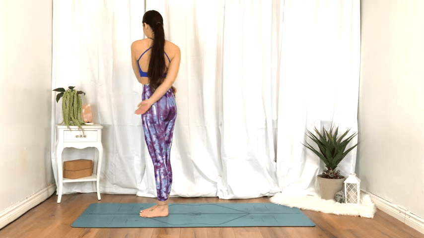 Yoga For TENSION RELIEF Sore Muscles 10 Minute Yoga Flow For Beginners 1 33 screenshot