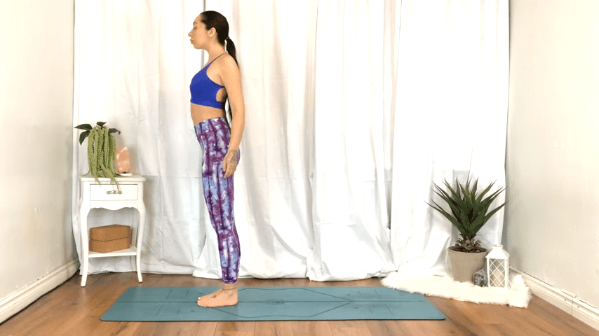 Yoga For TENSION RELIEF Sore Muscles 10 Minute Yoga Flow For Beginners 1 9 screenshot