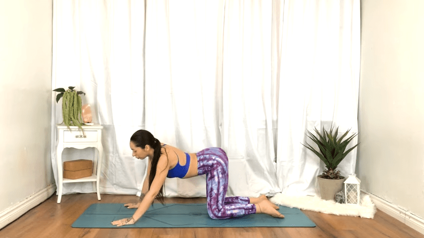Yoga For TENSION RELIEF Sore Muscles 10 Minute Yoga Flow For Beginners 10 38 screenshot