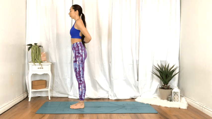 Yoga For TENSION RELIEF Sore Muscles 10 Minute Yoga Flow For Beginners 2 17 screenshot