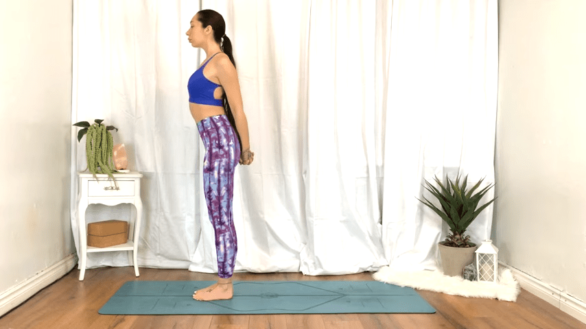 Yoga For TENSION RELIEF Sore Muscles 10 Minute Yoga Flow For Beginners 2 39 screenshot