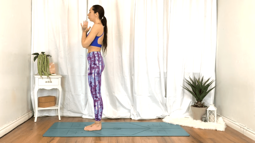 Yoga For TENSION RELIEF Sore Muscles 10 Minute Yoga Flow For Beginners 3 44 screenshot