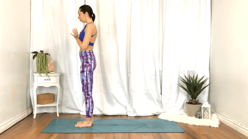 Yoga For TENSION RELIEF Sore Muscles 10 Minute Yoga Flow For Beginners 5 38 screenshot