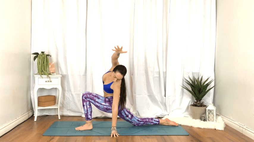 Yoga For TENSION RELIEF Sore Muscles 10 Minute Yoga Flow For Beginners 6 20 screenshot