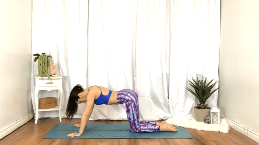 Yoga For TENSION RELIEF Sore Muscles 10 Minute Yoga Flow For Beginners 7 0 screenshot