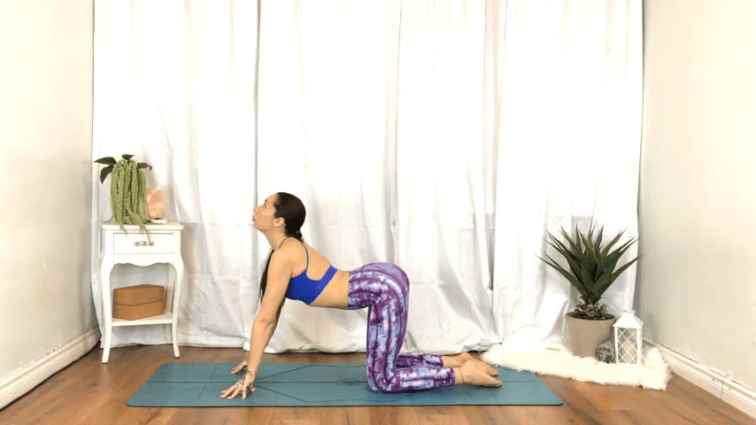Yoga For TENSION RELIEF Sore Muscles 10 Minute Yoga Flow For Beginners 7 36 screenshot