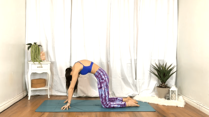 Yoga For TENSION RELIEF Sore Muscles 10 Minute Yoga Flow For Beginners 7 41 screenshot