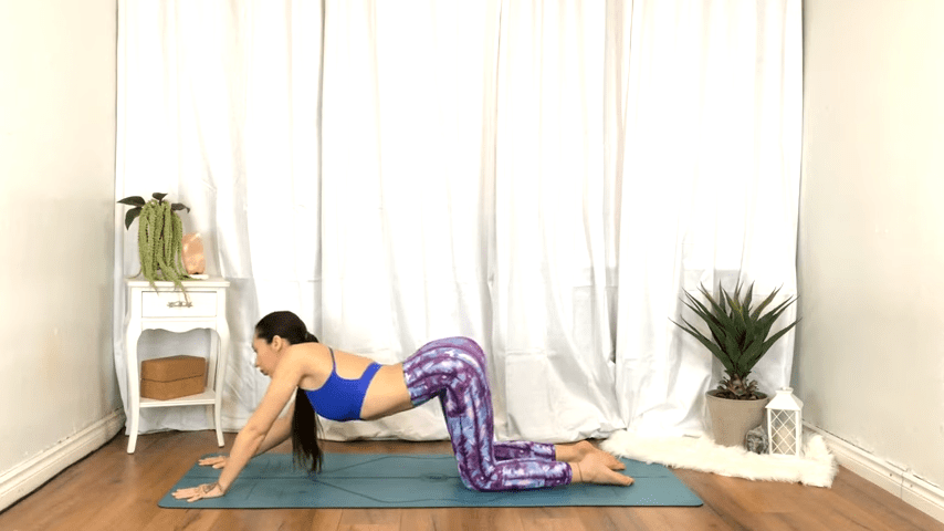 Yoga For TENSION RELIEF Sore Muscles 10 Minute Yoga Flow For Beginners 8 24 screenshot