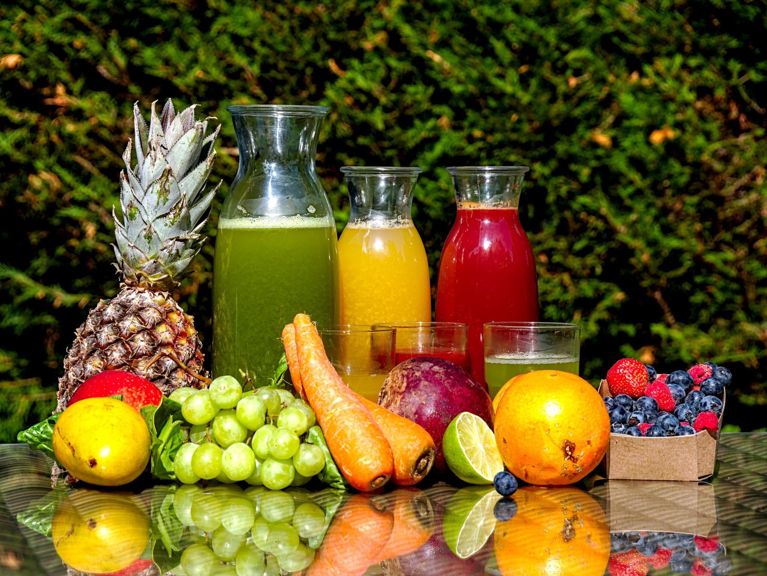 Juice som øker forbrenningen