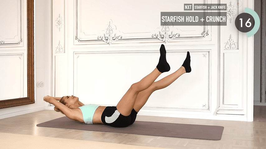 10 MIN ABS YOGA a slow and relaxed workout for super strong abs No Equipment I Pamela Reif 1 30 screenshot