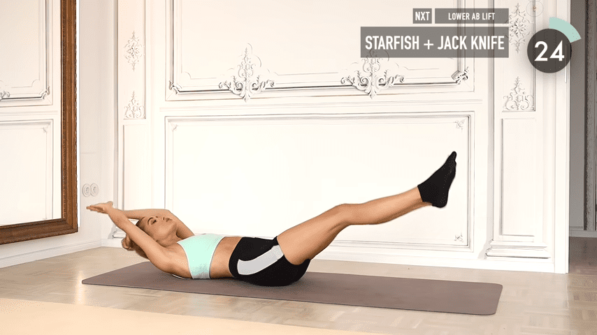 10 MIN ABS YOGA a slow and relaxed workout for super strong abs No Equipment I Pamela Reif 1 51 screenshot 2