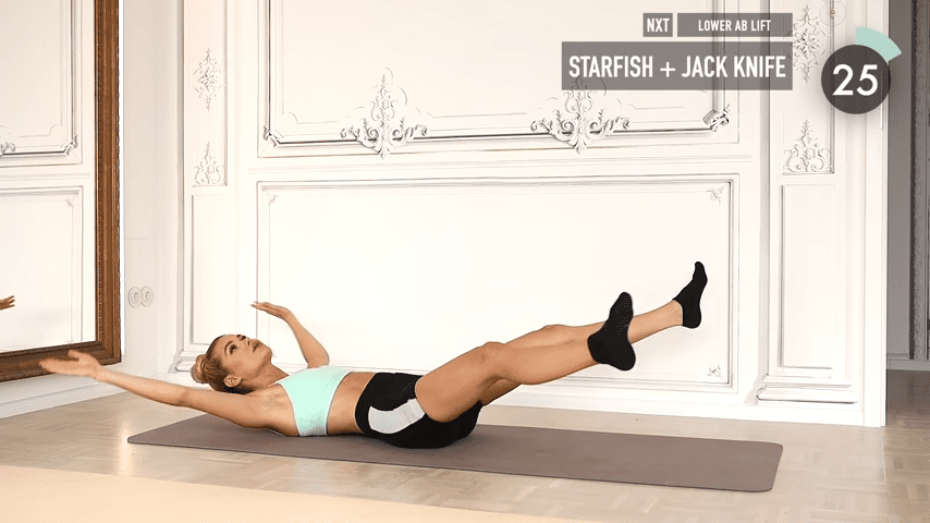 10 MIN ABS YOGA a slow and relaxed workout for super strong abs No Equipment I Pamela Reif 1 51 screenshot