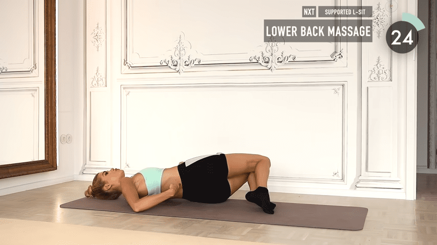 10 MIN ABS YOGA a slow and relaxed workout for super strong abs No Equipment I Pamela Reif 3 21 screenshot