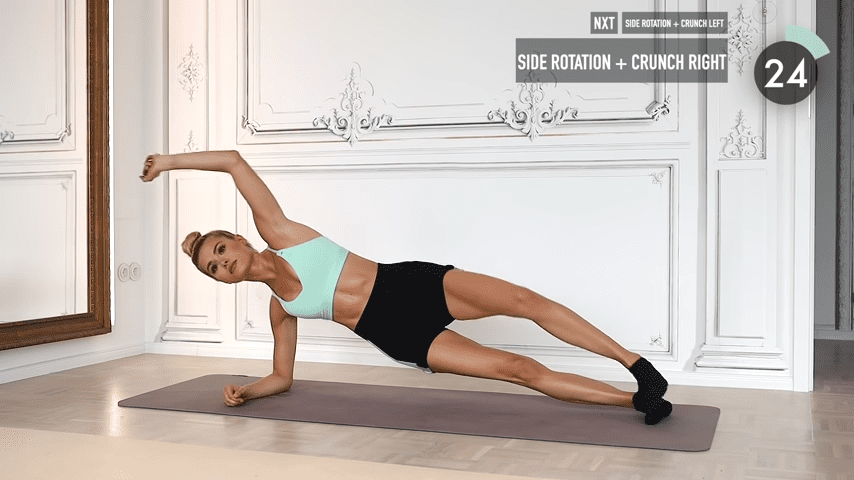 10 MIN ABS YOGA a slow and relaxed workout for super strong abs No Equipment I Pamela Reif 6 51 screenshot