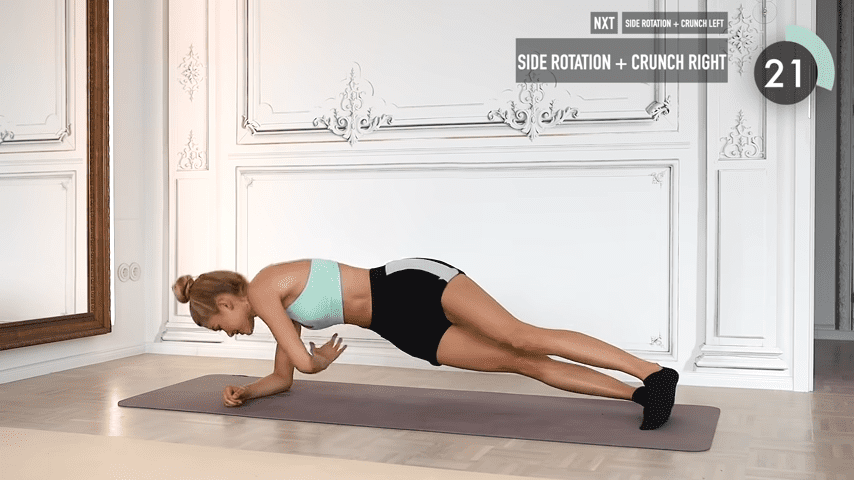 10 MIN ABS YOGA a slow and relaxed workout for super strong abs No Equipment I Pamela Reif 6 55 screenshot