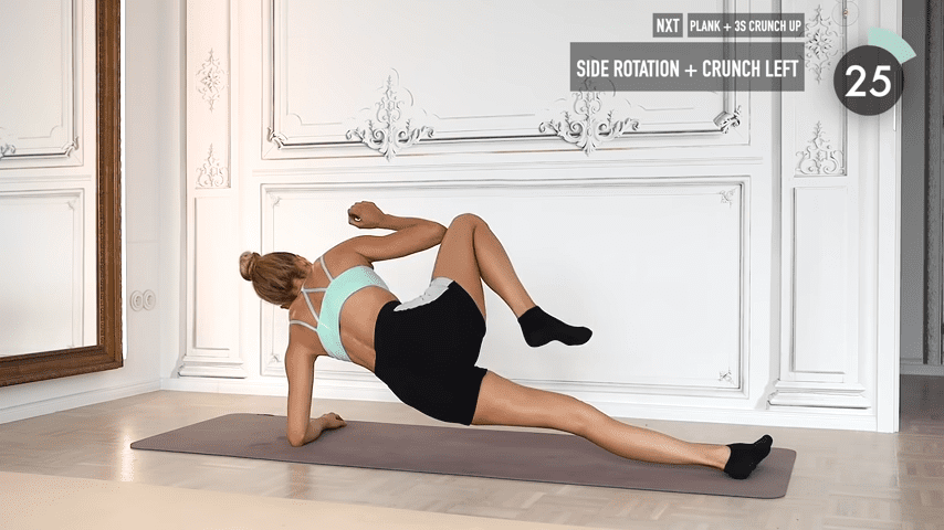 10 MIN ABS YOGA a slow and relaxed workout for super strong abs No Equipment I Pamela Reif 7 21 screenshot