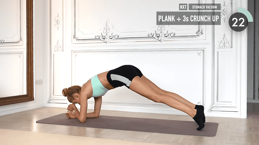 10 MIN ABS YOGA a slow and relaxed workout for super strong abs No Equipment I Pamela Reif 7 53 screenshot