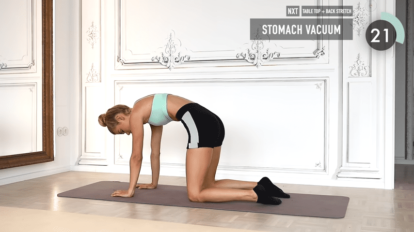 10 MIN ABS YOGA a slow and relaxed workout for super strong abs No Equipment I Pamela Reif 8 25 screenshot