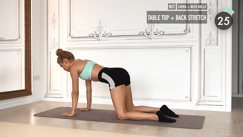 10 MIN ABS YOGA a slow and relaxed workout for super strong abs No Equipment I Pamela Reif 8 50 screenshot