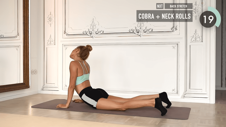 10 MIN ABS YOGA a slow and relaxed workout for super strong abs No Equipment I Pamela Reif 9 26 screenshot