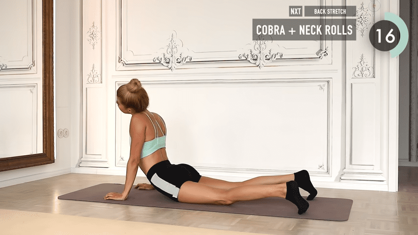 10 MIN ABS YOGA a slow and relaxed workout for super strong abs No Equipment I Pamela Reif 9 29 screenshot
