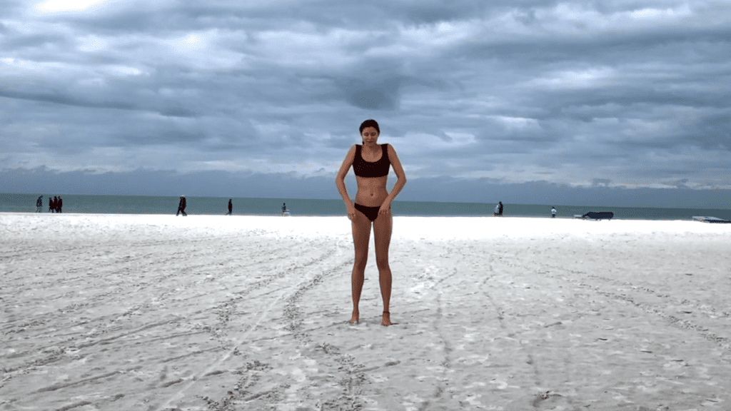 15 min. BEACH YOGA STANDING FLOW 1 10 screenshot