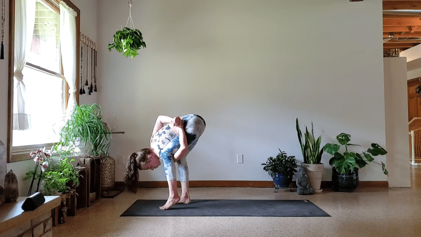 How to do Bird of Paradise Pose in Yoga 3 16 screenshot