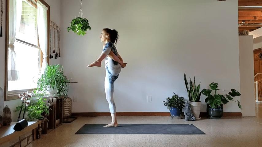 How to do Bird of Paradise Pose in Yoga 3 56 screenshot