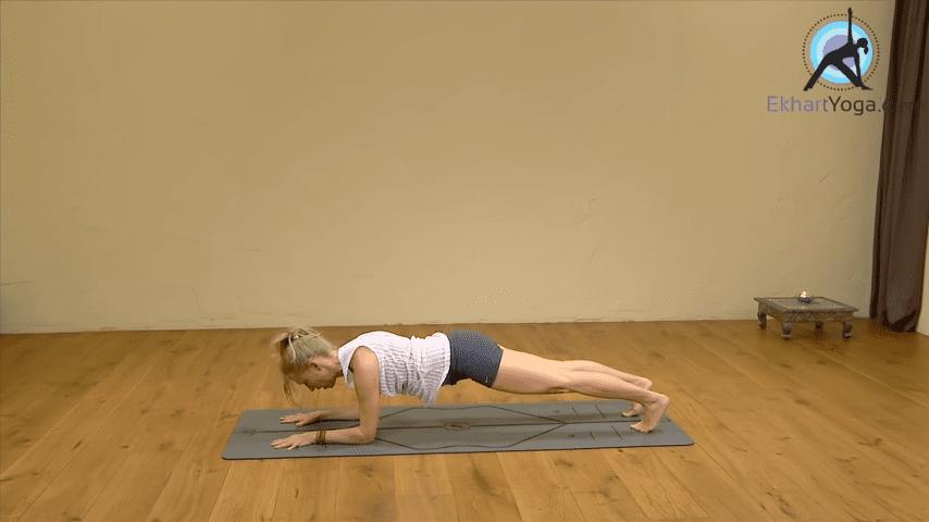 Playing Dolphin Pose into Forearm Balance Yoga with Esther Ekhart 1 54 screenshot