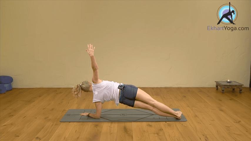 Playing Dolphin Pose into Forearm Balance Yoga with Esther Ekhart 2 18 screenshot