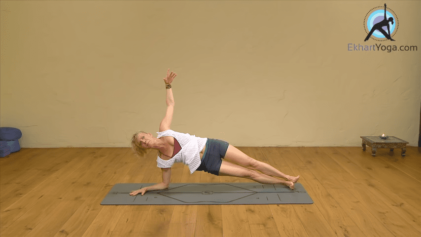 Playing Dolphin Pose into Forearm Balance Yoga with Esther Ekhart 2 23 screenshot