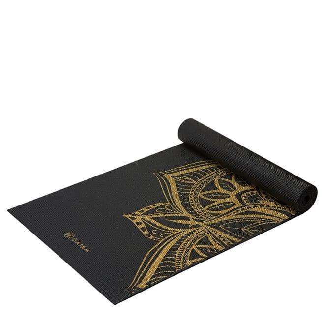 63418 Gaiam 6mm Yoga Mat Bronze Medal 01 0321