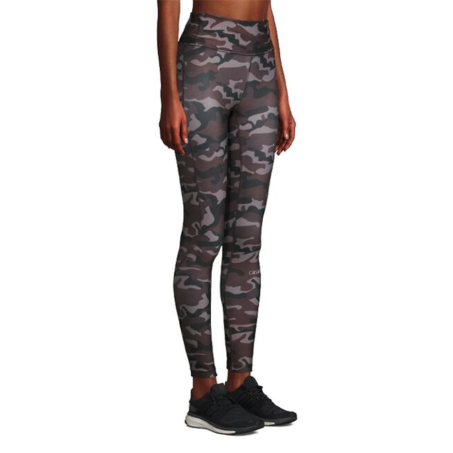 218002120R Casall Printed Sport Tights Grey Paint 01 0121